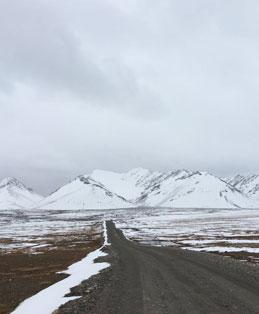 אל ההרים המושלגים
