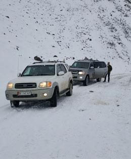מסע בשלג