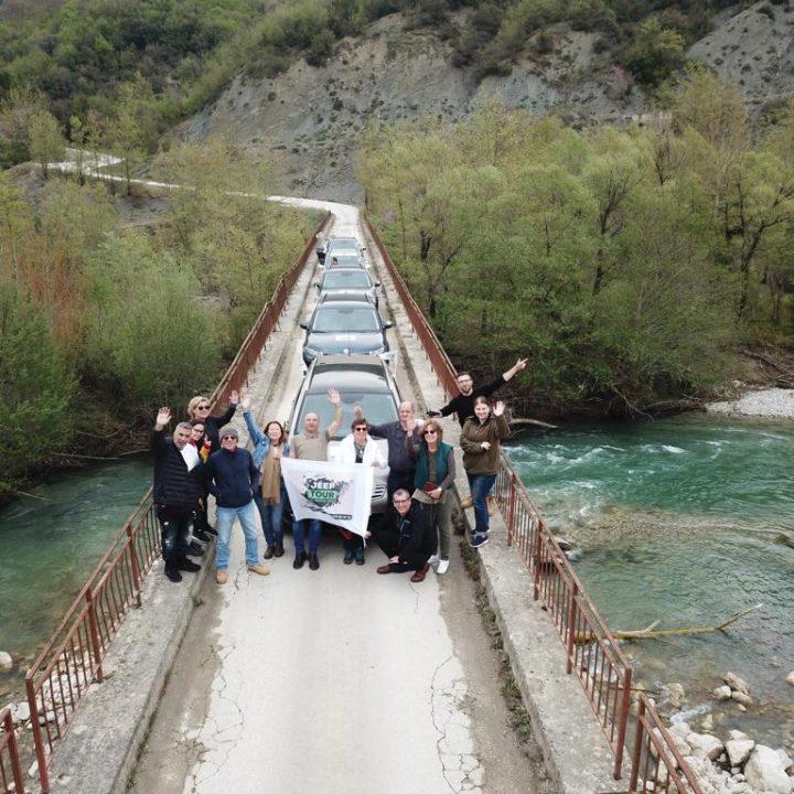 טיול בג'יפים ליוון